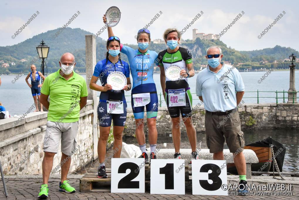 EGS2021_10924 | AronaMen Triathlon 2021 - premiazione assoluto femminile