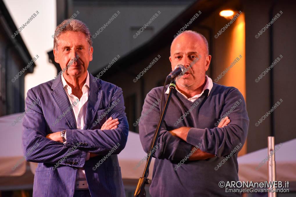EGS2021_11495   Il saluto del sindaco Federico Monti e del presidente della Pro Loco Arona Alberto Tampieri