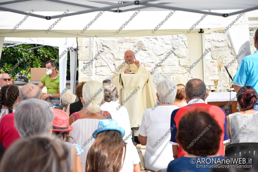 EGS2021_13291   Celebrazione per la Festa dell'Assunta a Meina sul nuovo lungolago