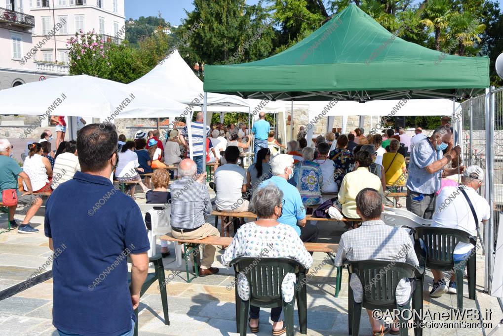 EGS2021_13296   Celebrazione per la Festa dell'Assunta a Meina sul nuovo lungolago