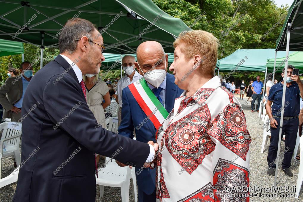 EGS2021_13873   Mariella Enoc e il prefetto di Novara Francesco Garsia