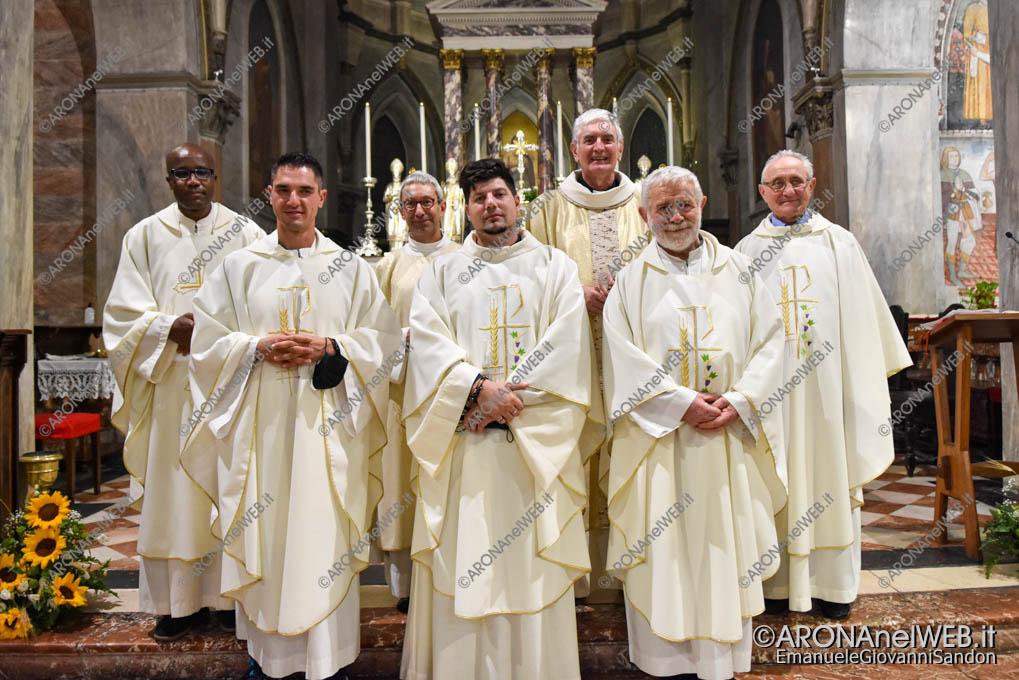 EGS2021_17073 |  | Don Samuele Pizzolato e don Roberto Salsa con i sacerdoti della parrocchia