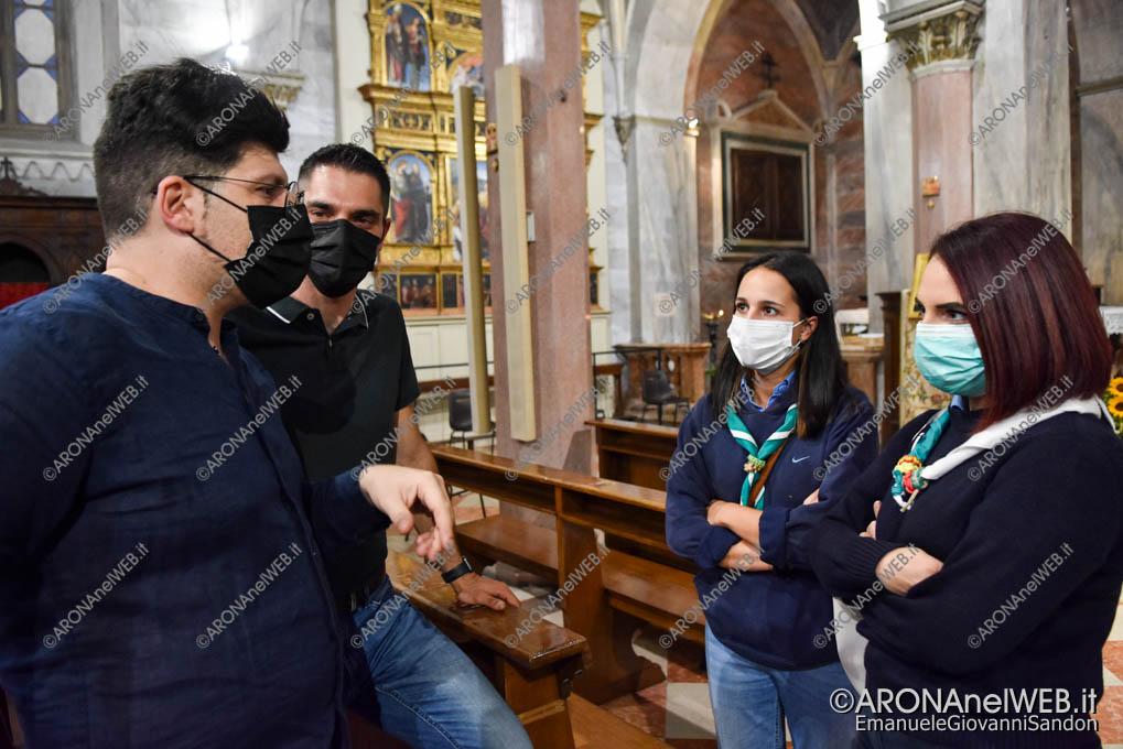 EGS2021_17110 | Don Samuele Pizzolato con il gruppo scout Arona
