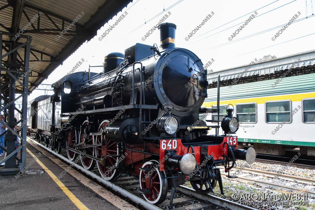 EGS2021_18415   Novara – Stresa con un treno storico a vapore