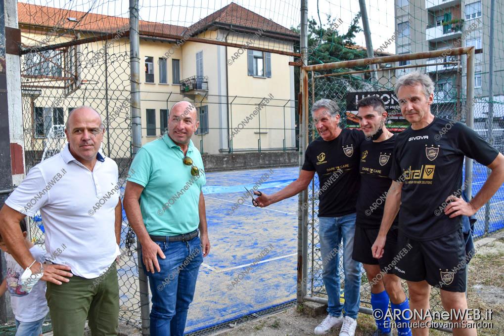 EGS2021_18584 | Inaugurazione nuovo campo da calcetto all'oratorio di Arona realizzato da Lucon Sport