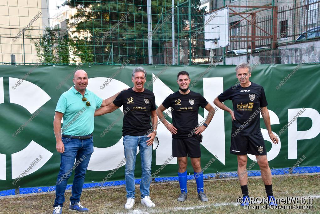 EGS2021_18601 | Roberto Lucon, Federico Monti, don Gianluca De Marco e Giorgio Savoia