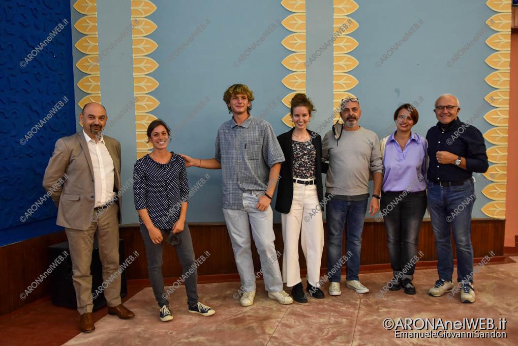 """EGS2021_20107   I relatori dell'incontro """"Protagonisti i giovani. Quali politiche?"""""""