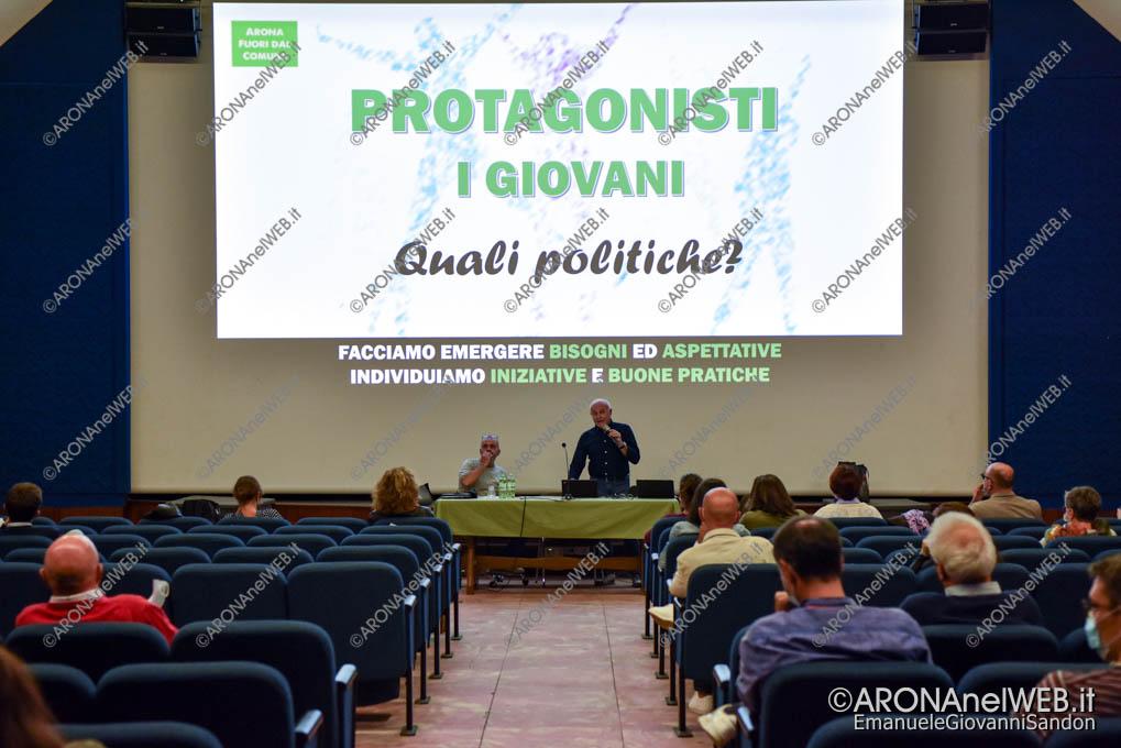"""EGS2021_20122   Incontro """"Protagonisti i giovani. Quali politiche?"""""""