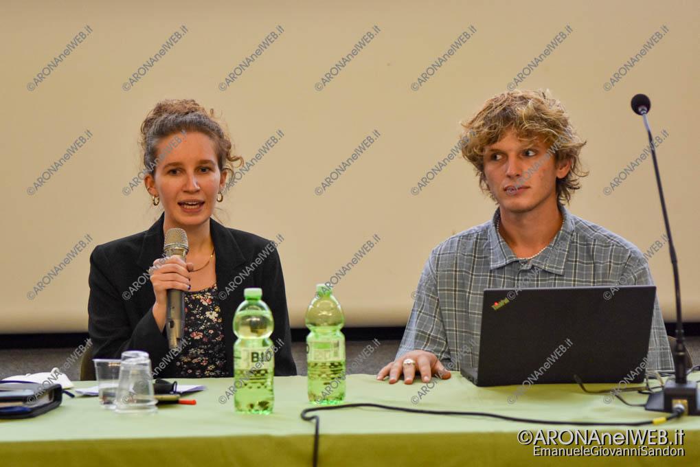 EGS2021_20171   Elena Gentina presidente e Filippo Manzini vicepresidente della Consulta Giovanile Comunale di Invorio