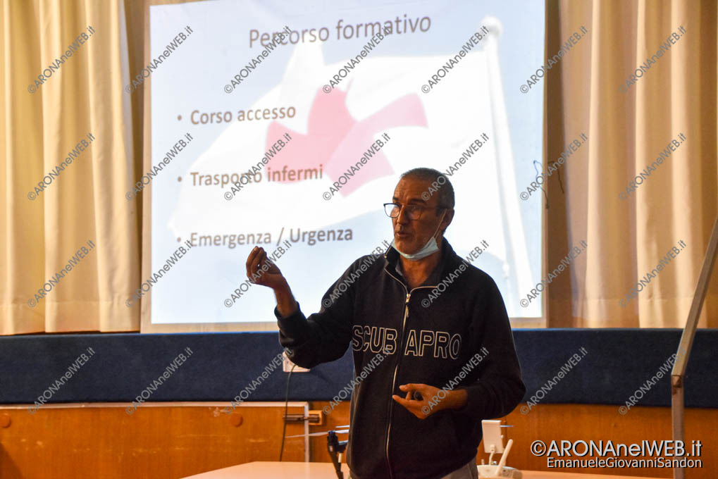 EGS2021_21816 | Luca Lombardi, il formatore della Cri Arona